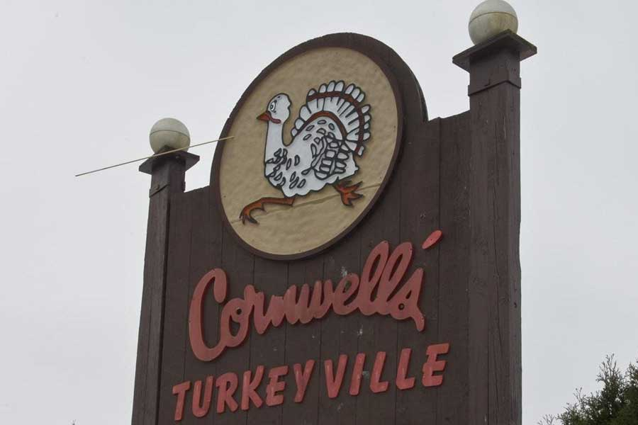 Picture of the Sign out front of Cornwell's Dinner Theater